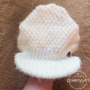 Firefly white wool hat